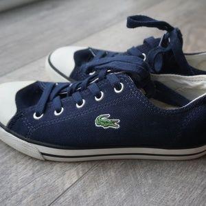 Lacoste Navy Sneakers